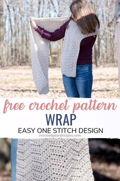 Latest Cost-Free Crochet Wrap Pattern Tips Weekly I'll have anything new to learn or a simple task to make. (There it's still regular th Crochet Bracelet Pattern, Crochet Wrap Pattern, Crochet Mat, Wire Crochet, Crochet Scarves, Crochet Shawl, Crochet Patterns, Crochet Wraps, Wire Jewelry Patterns