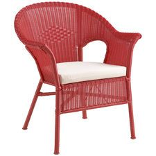 Casbah Stacking Chair - Red