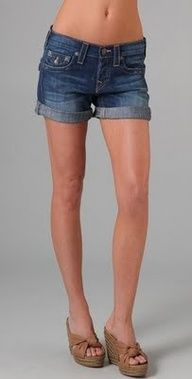 DIY Jean Shorts