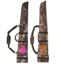"-100% cordura nylon -Velcro® and buckle closure with D-ring loop -Adjustable padded shoulder strap -Padded interior and shell pocket -Size: 54"" long ***WHEN CHECKING OUT, please let us know all this info: Monogram (first LAST middle) or the way you want it shown, Monogram Font (curly entw..."