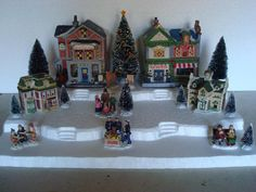 Christmas Village Display Base Platform CH21 Dept 56 Lemax Dickens Snow Village | Collectibles, Decorative Collectibles, Decorative Collectible Brands | eBay!