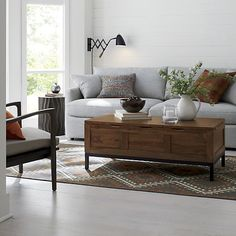 "Not sure if I like it because it's so practical in a ""look what I can store in here"" way, or if I actually like the look of it. Tucker Trunk in Coffee Tables & Side Tables 
