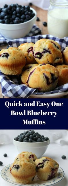 If you love easy recipes, These Quick and Easy One Bowl Blueberry Muffins are a great recipe when you are wanting a fast but easy breakfast that is delicious and full of flavor. Homemade Blueberry Muffins, Blueberry Recipes, Fruit Recipes, Dessert Recipes, Cooking Recipes, Muffin Recipes, Recipies, Whole Wheat Blueberry Muffins, Blueberry Loaf