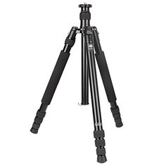 """Sirui N-1004KX 4-Section Aluminum Alloy Tripod, 63"""" Tripod Max Height, 61.4"""" Monopod Max Height, 26.5 lbs Load Capacity * Be sure to check out this awesome product."""