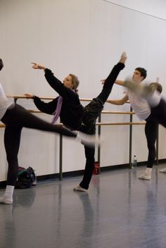 Sara Mearns She is so true to the art.