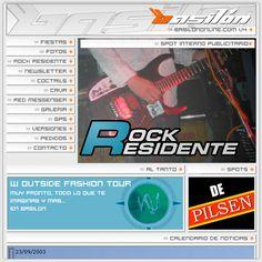 Año 2004 - DIMS - Basilón V4 - Diseño, desarrollo y actualizacón de portal web Full Flash.