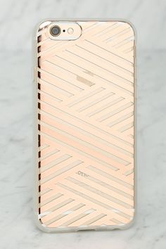 Rose Gold iPhone 6 Case//
