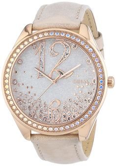Guess Damen-Armbanduhr XL Analog Quarz Leder W0337L3 jetzt neu! ->. . . . . der Blog für den Gentleman.viele interessante Beiträge  - www.thegentlemanclub.de/blog