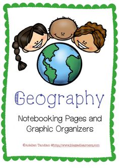 Geography records will be more structured and special with a digital collection of Geography Notebooking Pages and Graphic Organizers. The daily learning will be more engaging and easier.