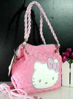 fe678ba4e Item Type: Hello Kitty Handbag Size: Small Number of Handles/Straps: Single  Interior: Interior Slot Pocket Closure Type: Cover Handbags Type: Day  Clutches ...