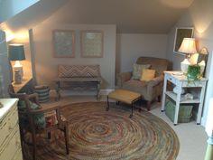attic sitting area