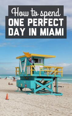 How to spend one perfect day in Miami! Find out on A Globe Well Travelled