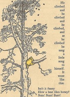 I've been reading The book Winnie the Pooh from 1926 over the last couple days and I'm absolutely in love so I thought I'd share one of my favorit. Winnie the Pooh Christopher Robin, Pooh Bear, Tigger, Eeyore, It Goes Like This, My Love, 100 Acre Wood, Hundred Acre Woods, Winnie The Pooh Quotes