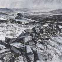 Pennine Walls Artist Gallery, North Yorkshire, Painting & Drawing, Mountains, Drawings, Landscapes, Walls, Travel, Paintings