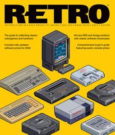 Edge Retro Issue 3 Cover by gunstar-red on DeviantArt Isometric Art, Isometric Design, Retro Video Games, Video Game Art, Arte 8 Bits, 8 Bit Art, Pixel Art Games, Computer Art, Graphic Design Posters