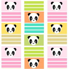 Free digital panda bear scrapbooking paper - ausdruckbares Geschenkpapier - freebie | MeinLilaPark – DIY printables and downloads