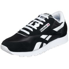 brand new 7ad97 40dea Reebok Men s Classic Sneaker, Black White, Size  7 D(M) US. Cush comfort  and vintage style blend seamlessly. Item dimensions  weight  width  height   ...