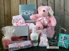 October is Breast Cancer Awareness Month    Gift Baskets for Cancer Patients and Caregivers