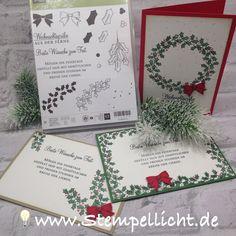 Weihnachtsschlitten und Adventsgrün super Stampin' Up Set's für Weihnachtskarten