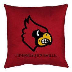 NCAA Louisville Throw Pillow