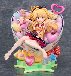 iDOLM@STER Cinderella Girls Jougasaki Rika Charisma Chibi Girl ver. by Phat! Company up for preorder #anime #figures