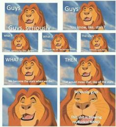 Mufasa high as fuck. Damn Autocorrect, Stoner Humor, Kids Growing Up, Science And Nature, A Good Man, Funny Images, The Funny, Haha, Hilarious