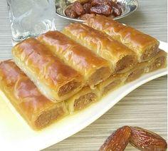Baklava sa keksom i orasima Bosnian Recipes, Croatian Recipes, Cupcake Recipes, Baking Recipes, Special Recipes, Desert Recipes, Bread Baking, Fun Desserts, No Bake Cake