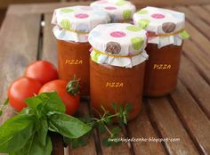 Swojskie jedzonko: Sos do pizzy na zimę-pachnący ziołami