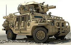Rhino FISTV Fast Infantry Support Tactical Vehicle