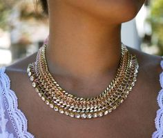 I am making this gorgeous necklace tonight!