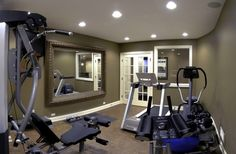 Planning and execution of 58 ideas for home gym Home Gym Ideas. The easy way to buy or sell your home and maximize your ROI -  http://www.LystHouse.com