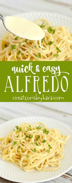 This homemade Copycat Olive Garden Alfredo Sauce recipe is out of ...