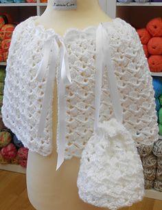 Crochet Pattern Communion Cape : first communion crochet patterns Girls First Holy ...