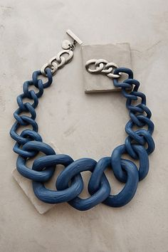 Crescendo Link Necklace #anthropologie