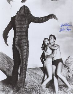 Lagoon Creature Attack (still from Creature from the Balck Lagoon)