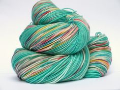 Hand Dyed Fingering/Sock Yarn, 80/20 SW Merino/Nylon, 600 yards, Hjordis
