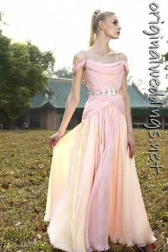 Rhinestone Embellished Bride Gown Pink (spotted this at http://originalweddings.net )
