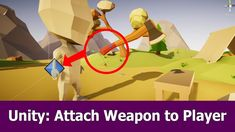Unity Inventory : Attach Weapon To Player's Hand
