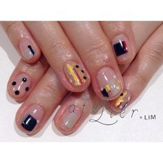 Gustave Klimnt inspired nails