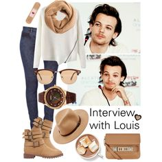 """""""Interview with Louis Tomlinson"""" by tonioverthetop on Polyvore"""