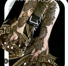 Mehandi Dijain, Henna Mehndi, Henna Art, Mehendi, Bridal Mehndi Designs, Bridal Henna, Henna Designs, Mehedi Design, Unique Henna