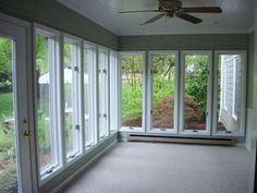 sunroom under deck- future idea? for basement apt
