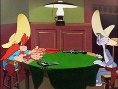"animationsmears:  "" ""Bugs Bunny Rides Again"" (1948)  Yosemite Sam, Warner Bros.  """