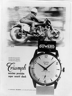Relojes Duward Serie Triumph 1953
