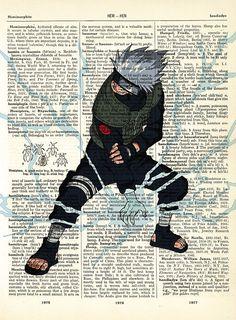 Hatake Kakashi from Naruto