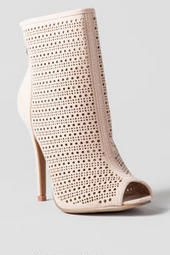 Chinese Laundry Shoes, Jupiter Perforated Bootie #francesca's