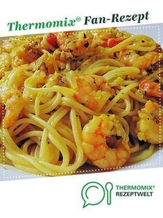 Prawn spaghetti potty from HotTomBBQ. A Thermomix ® recipe from the main course with fish & seafood category at www.de, the Thermomix ® community. Shrimp spaghetti potty Ini Art ineskunst Cooking & Co. with Thermomix Prawn spaghetti pott Shrimp Recipes, Pizza Recipes, Pork Recipes, Fish Recipes, Chicken Recipes, Prawn Spaghetti, Spaghetti Sauce, Healthy Recipes, A Food