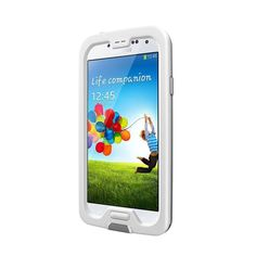 LifeProof FRE White/ Waterproof Phone Case for Samsung Galaxy S4