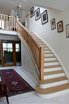 32 Best Oak Stairs Images Oak Stairs Stairs Types Of Stairs