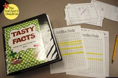 Tasty Facts Math quizzes, motivating kids to learn math facts